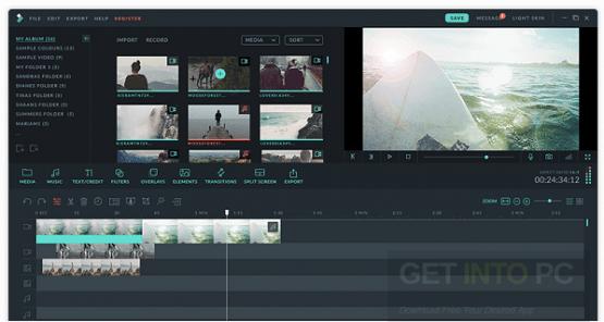 Wondershare Filmora 8.3.5.6 Offline Installer Download