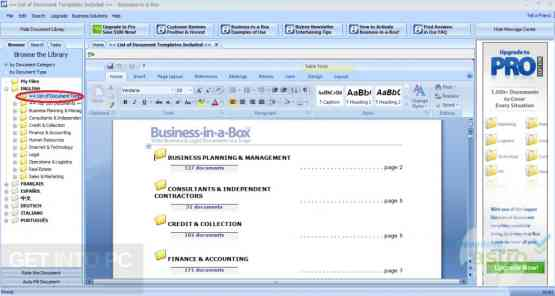Business in a Box Templates Updated Latest Version Download