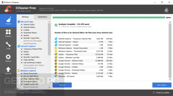 CCleaner Professional 5.41.6446 Direct Link Download