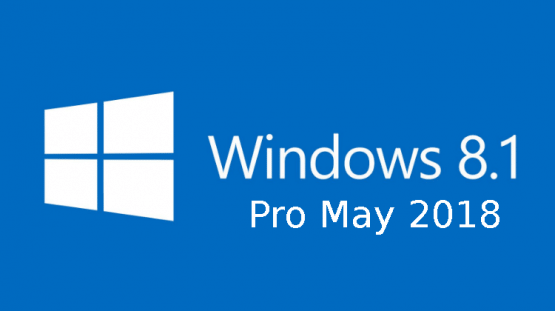 Windows 8.1 Pro May 2018 Free Download