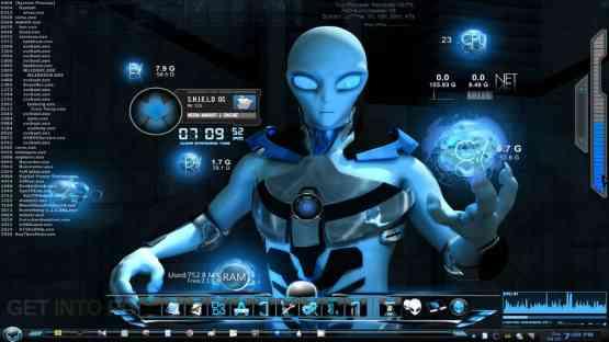 Windows 7 Alienware Blue Edition Offline Installer Download