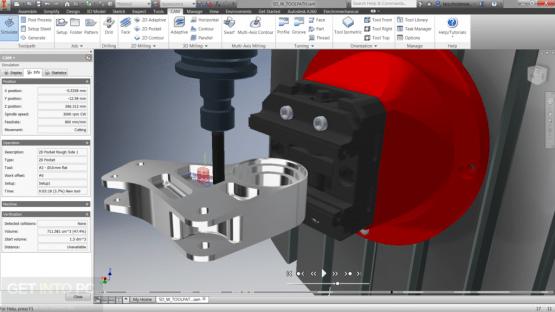 Autodesk Inventor HSM 2018 x64 Offline Installer Download