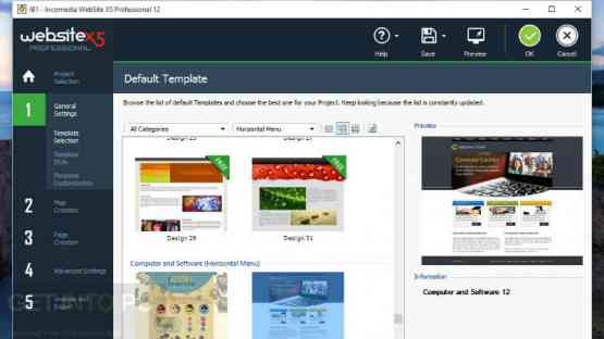 Incomedia WebSite X5 Professional 14.0.4.3 Latest Version Download