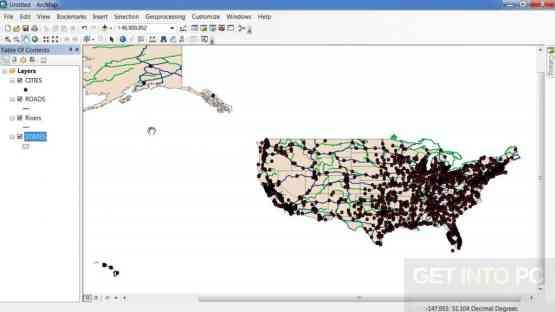 ESRI ArcGIS Desktop 10.5.0.6491 + Addons Offline Installer Download