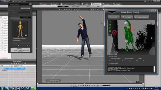 iClone Mocap Plug-in for Kinect Motion Capture Latest Version Download