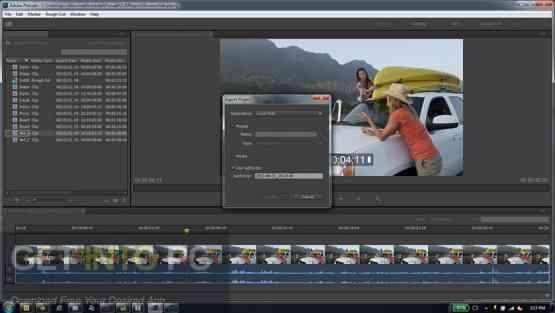Adobe Prelude CC 2017 DMG For MacOS Offline Installer Download