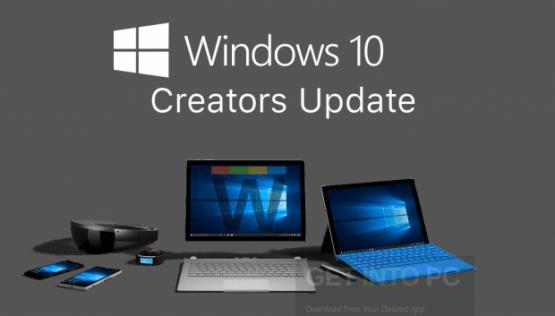 Windows 10 Pro Creators Update 64 Bit Free Download