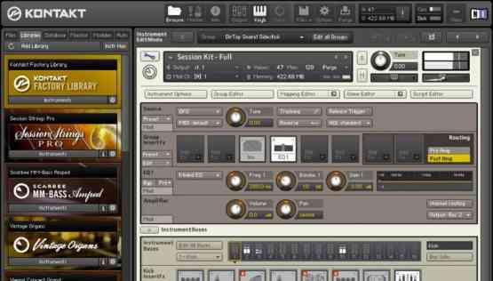 Native Instruments Kontakt 5.6.8 Offline Installer Download