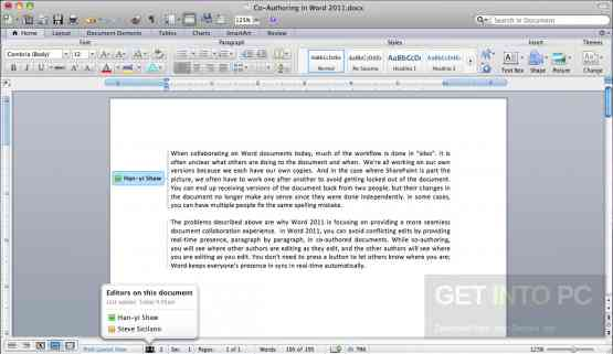 Microsoft Office 2011 for Mac OS Latest Version Download