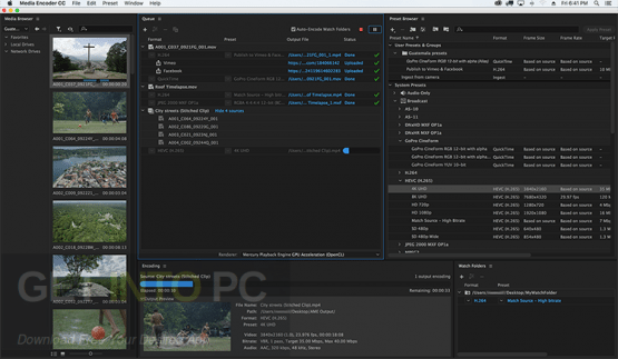 Adobe Media Encoder CC 2018 v12.0.1.64 Offline Installer Download
