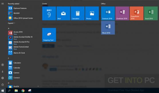 Windows 10 Pro Creators Update 64 Bit Latest Version Download