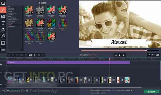 Movavi Video Editor Plus 14.1.1 Offline Installer Download