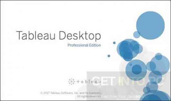 Tableau Desktop Professional 10.5.2 Free Download