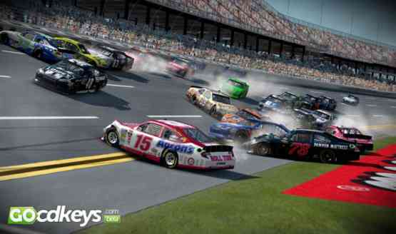 NASCAR 14 features