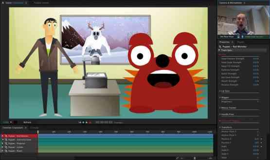 Adobe Character Animator CC 2018 Offline Installer Download
