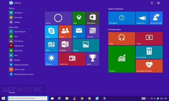 Windows 10 AIl in One 16294 32 64 Bit ISO Sep 2017 Offline Installer Download