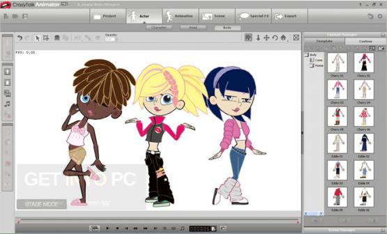 Reallusion CrazyTalk Animator 3.2.2029.1 Offline Installer Download