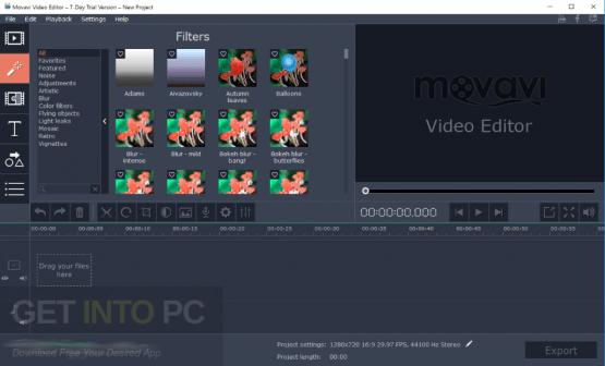 Movavi Video Editor Plus 14.1.1 Direct Link Download