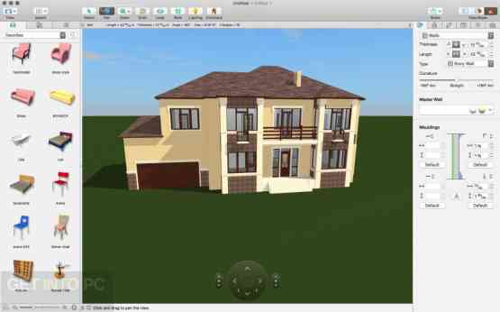 Live Home 3D (Live Interior 3D) 3.3.3 for Mac Offline Installer Download