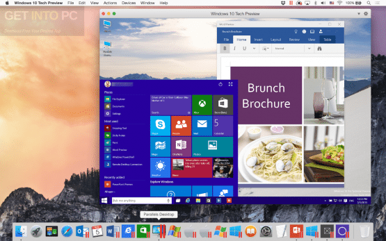 Parallels Desktop 10.2.1 DMG for MacOSX Direct Link Download