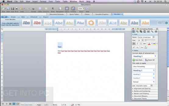 Microsoft Office 2008 DMG for Mac OS Latest Version Download