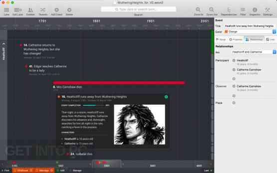 Aeon Timeline DMG for MacOS Direct Link Download