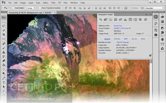 Avenza Geographic Imager for Photoshop Offline Installer Download