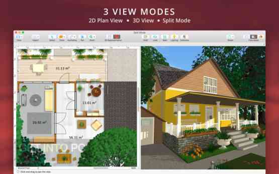 Live Home 3D (Live Interior 3D) 3.3.3 for Mac Latest Version Download