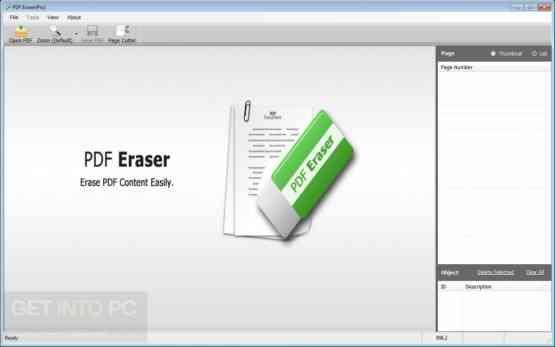 PDF Eraser Pro Offline Installer Download