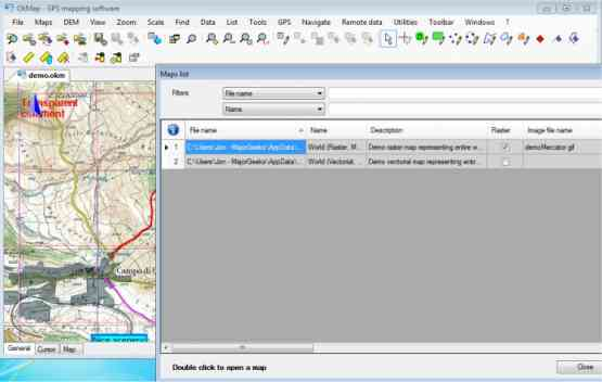 OkMap Desktop 13.10.6 Offline Installer Download