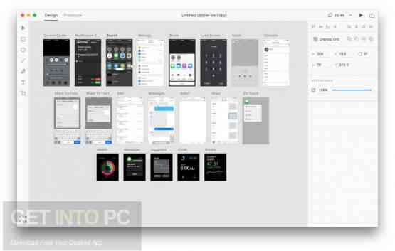Adobe XD CC 2018 for Mac Offline Installer Download