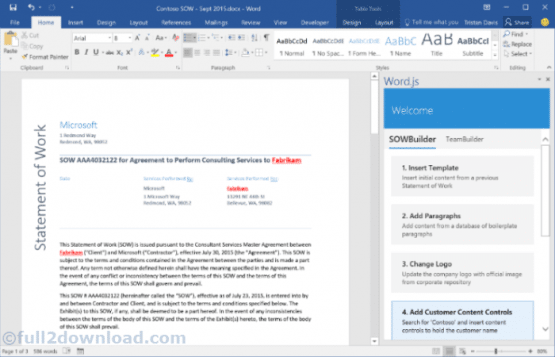 Microsoft Office 2016 Pro Plus + Visio + Project 64 Bit Latest Version Download