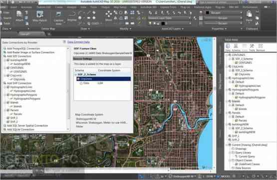 AutoCAD Map 3D 2019 Latest Version Download