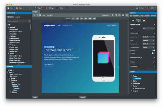 Bootstrap Studio 4.1.7 Pro Direct Link Download