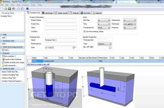 Schlumberger AquiferTest Pro 2011 Latest Version Download