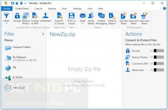 WinZip Pro 22 Direct Link Download