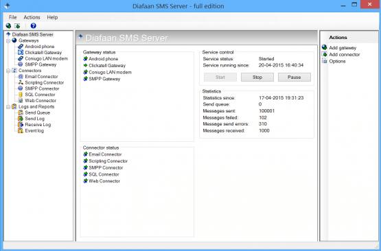 Diafaan SMS Server Latest Version Download