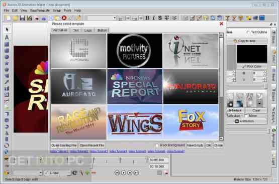 Aurora 3D Animation Maker Direct Link Download