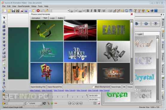 Aurora 3D Animation Maker Offline Installer Download
