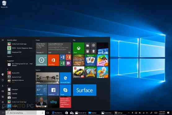 Windows 10 All in One x64 ISO With May 2017 Updates Offline Installer Download