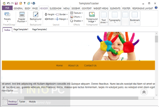 TemplateToaster 6.0.0.11509 Offline Installer Download