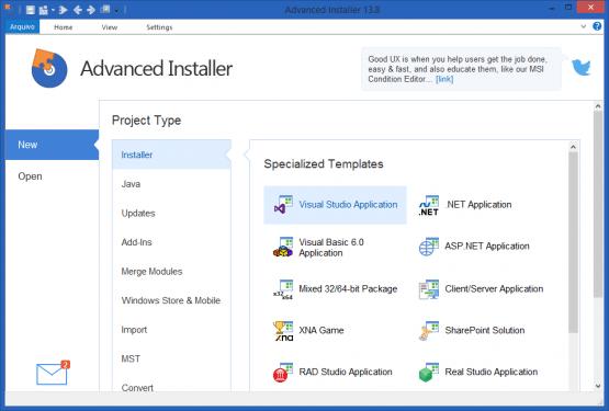Advanced Installer Architect 15.1 Latest Version Download