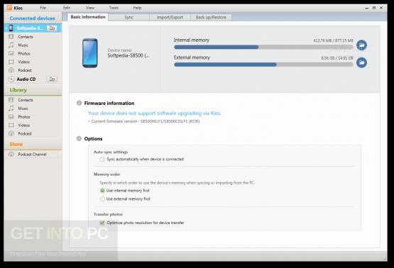 Samsung Kies Direct Link Download