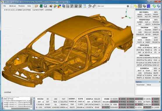 BETA CAE Systems 18.1.2 Offline Installer Download