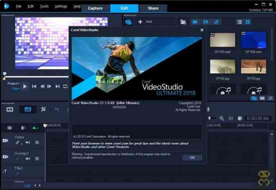 Corel VideoStudio Ultimate 2018 Direct Link Download