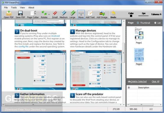 PDF Eraser Pro Direct Link Download