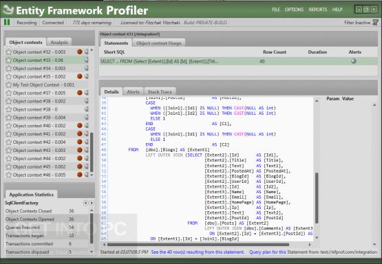 Entity Framework Profiler 4 Offline Installer Download