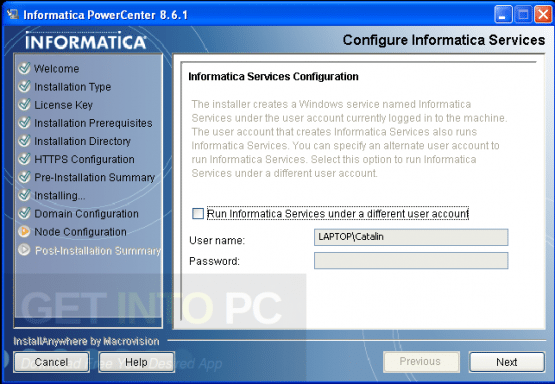 Informatica PowerCenter 8.6.0 Offline Installer Download