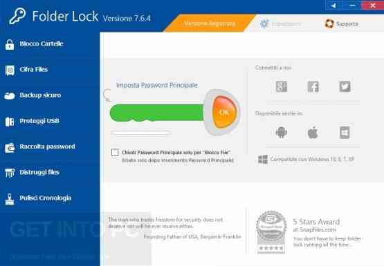 Folder Lock v7.6.9 Latest Version Download