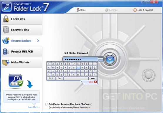 Folder Lock v7.6.9 Setup Free Download